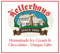 Kellerhaus - Since 1906 - Hand-made chocolates, candies and ice cream. Gift, collectible and candle showrooms.